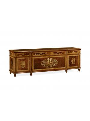 Low Mahogany& Mother of Pearl Entertainment Unit